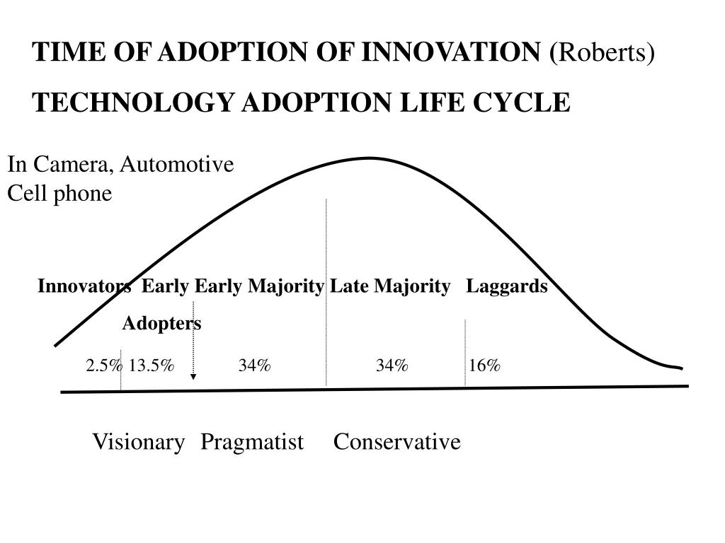 TIME OF ADOPTION OF INNOVATION (
