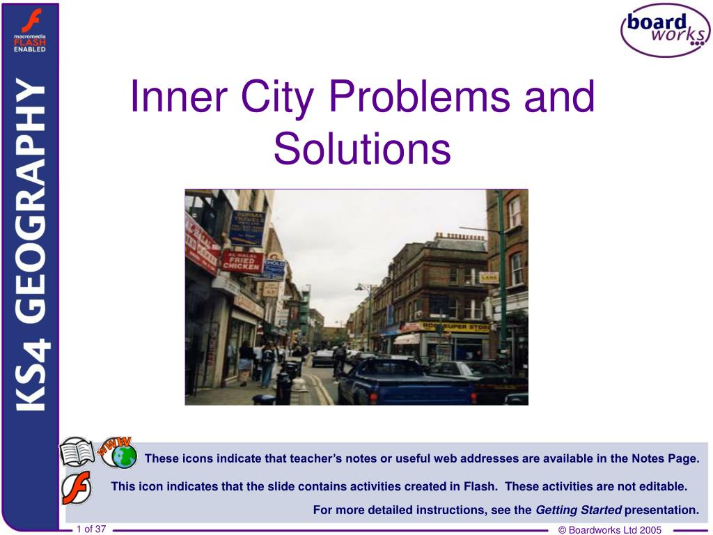 inner city problems and solutions l.