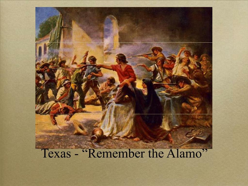 "Texas - ""Remember the Alamo"""