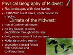 physical geography of midwest