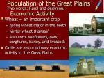 population of the great plains