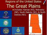 regions of the united states the great plains