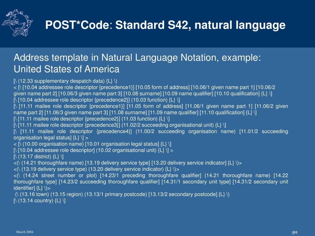 POST*Code