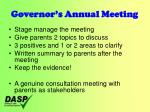 governor s annual meeting14