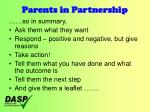 parents in partnership17