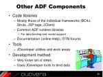 other adf components