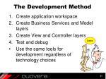 the development method