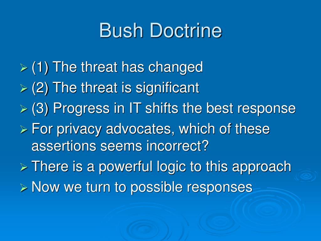 Bush Doctrine