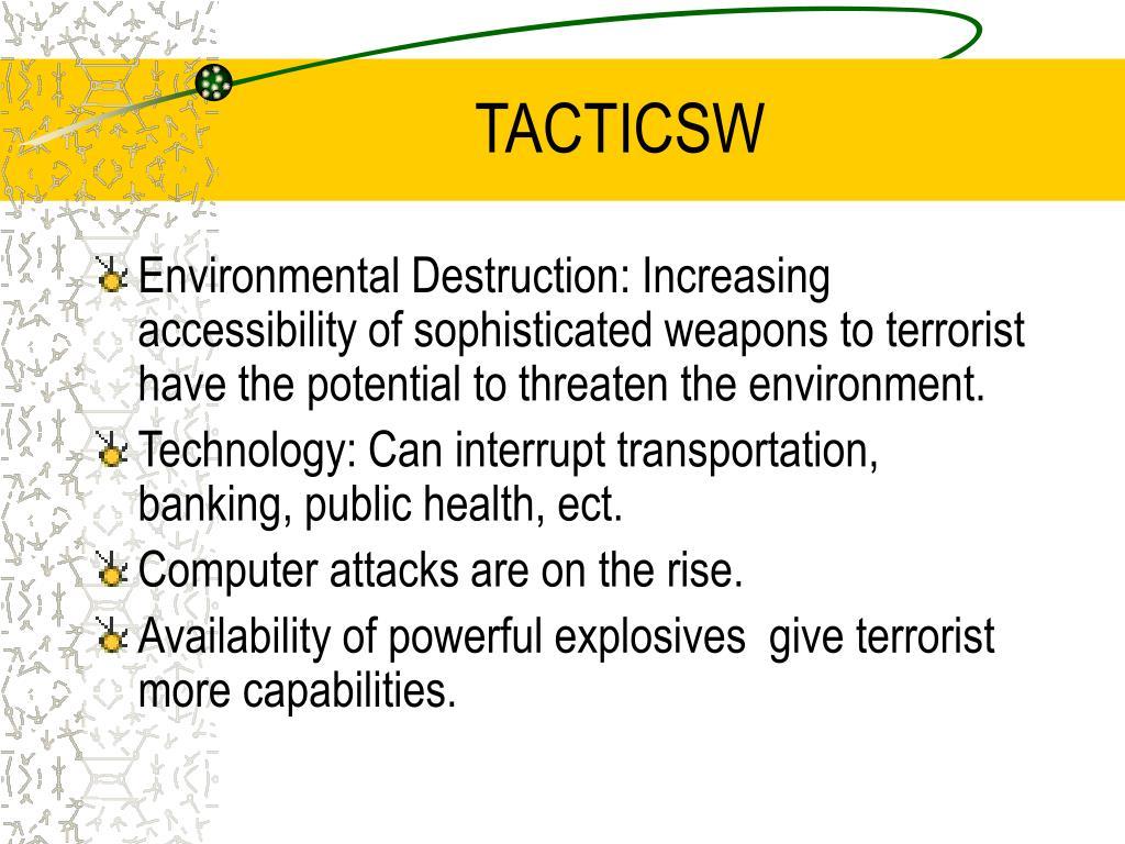 TACTICSW