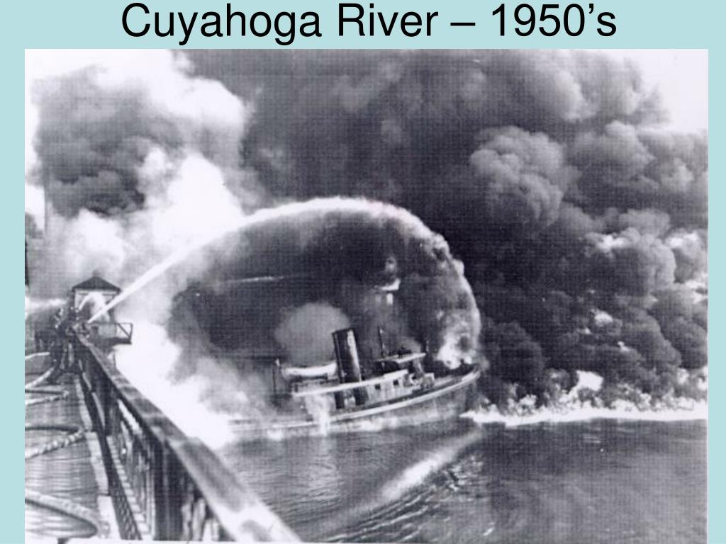 Cuyahoga River – 1950's