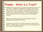 trusts what is a trust