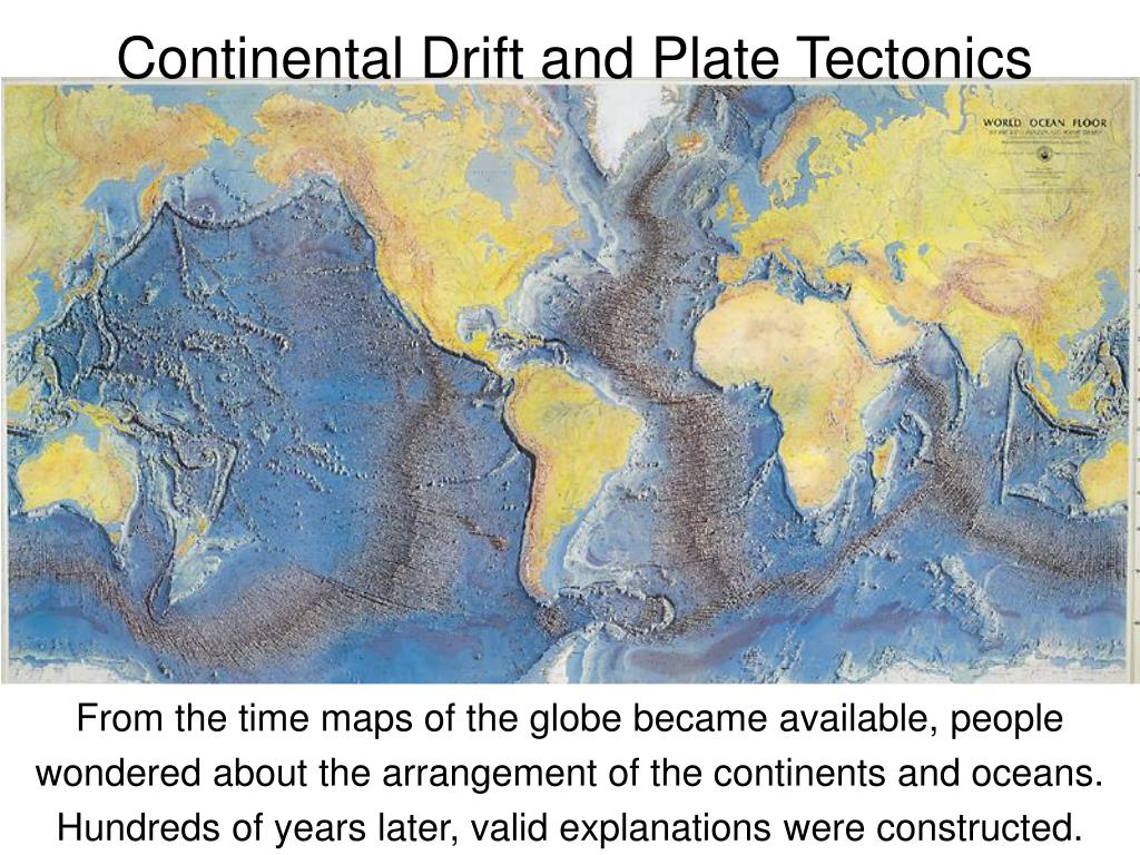 continental drift and plate tectonics l.