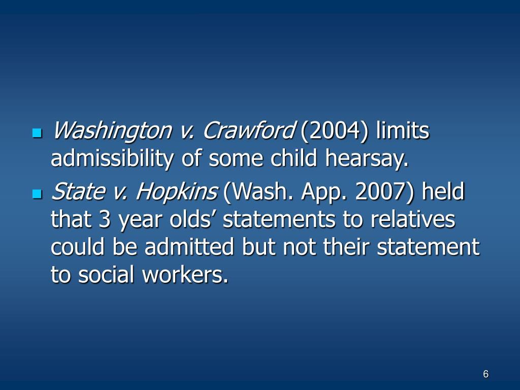 Washington v. Crawford