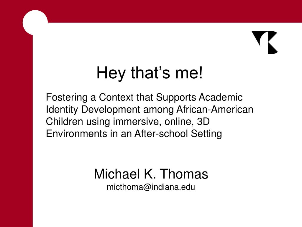 michael k thomas micthoma@indiana edu l.