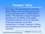 transport policy5