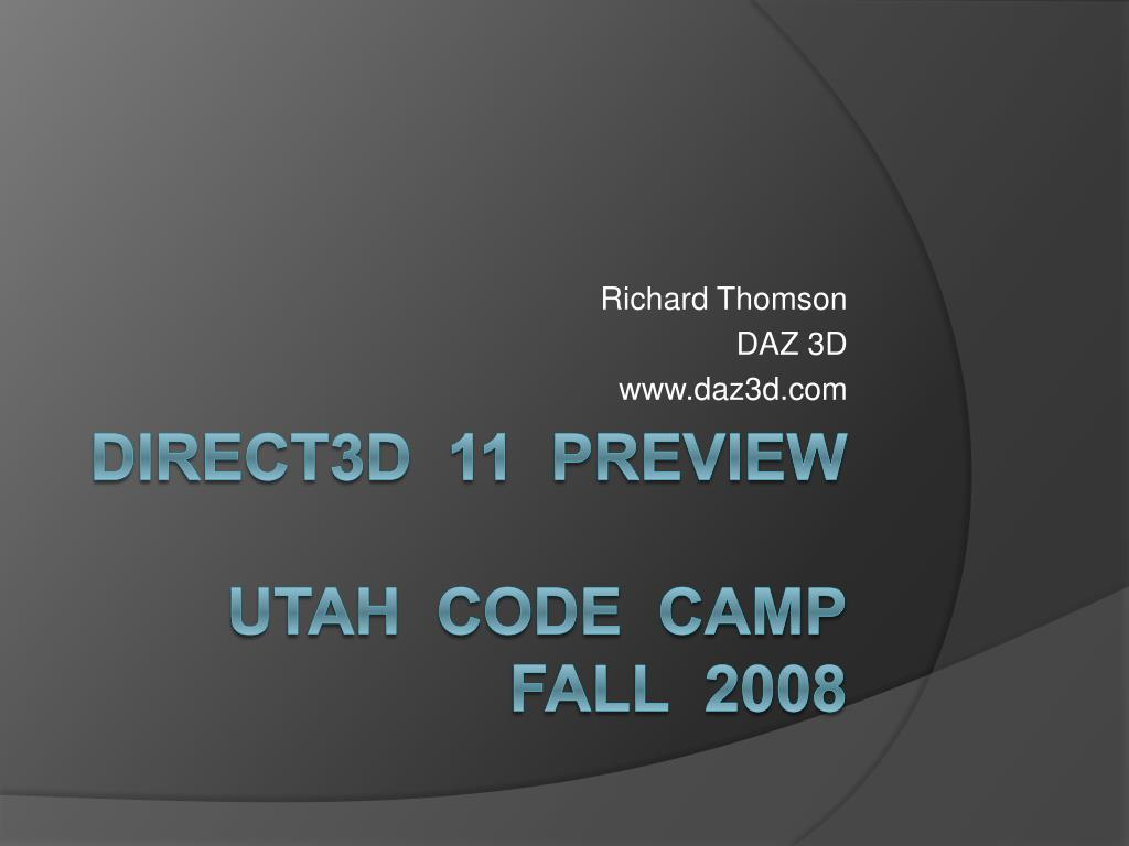 richard thomson daz 3d www daz3d com