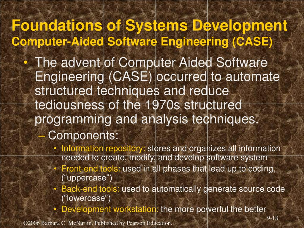 Foundations of Systems Development