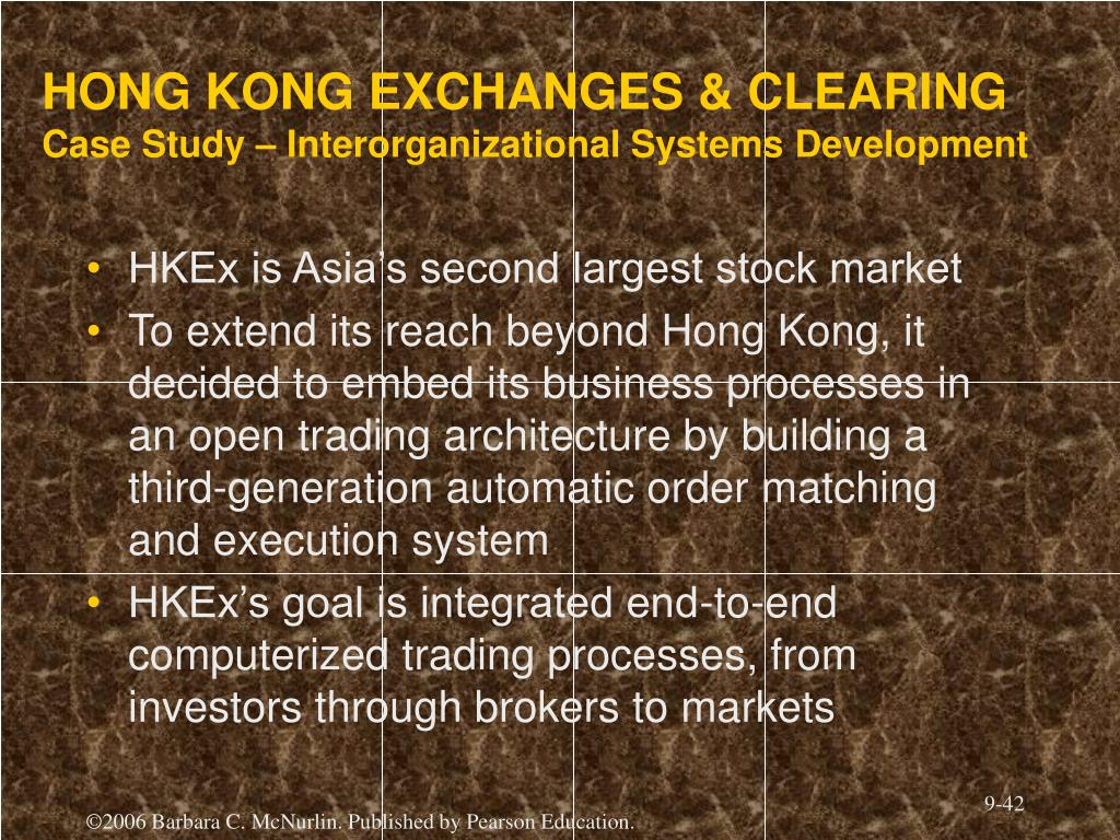 HONG KONG EXCHANGES & CLEARING