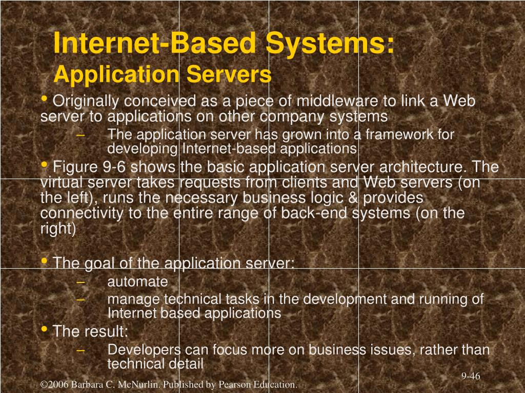 Internet-Based Systems: