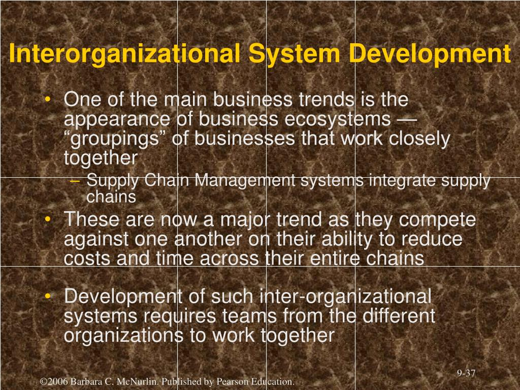 Interorganizational System Development