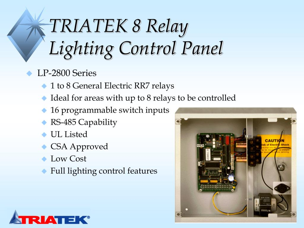 PPT - Lighting Control Solutions for Staefa Control System ... Ge Rr Lighting Control Relay Wiring Diagram on