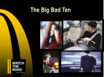 the big bad ten