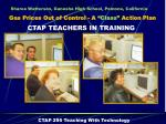 ctap teachers in training