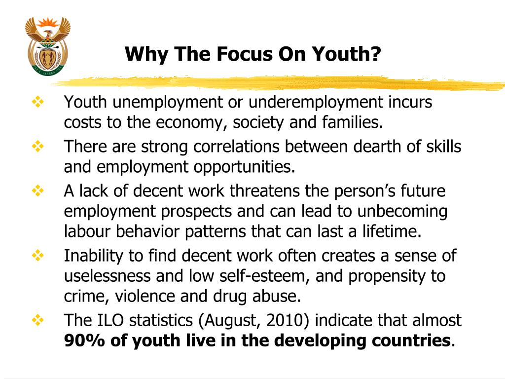 Why The Focus On Youth?