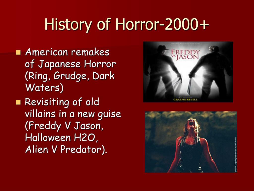 History of Horror-2000+
