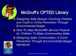 mcgruff s cpted library