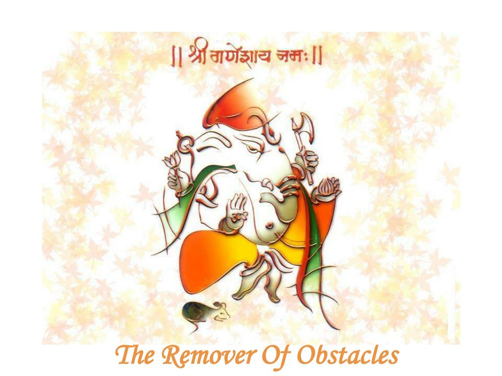 the remover of obstacles l.