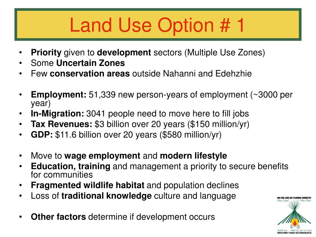 Land Use Option # 1