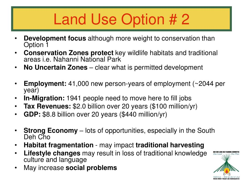 Land Use Option # 2