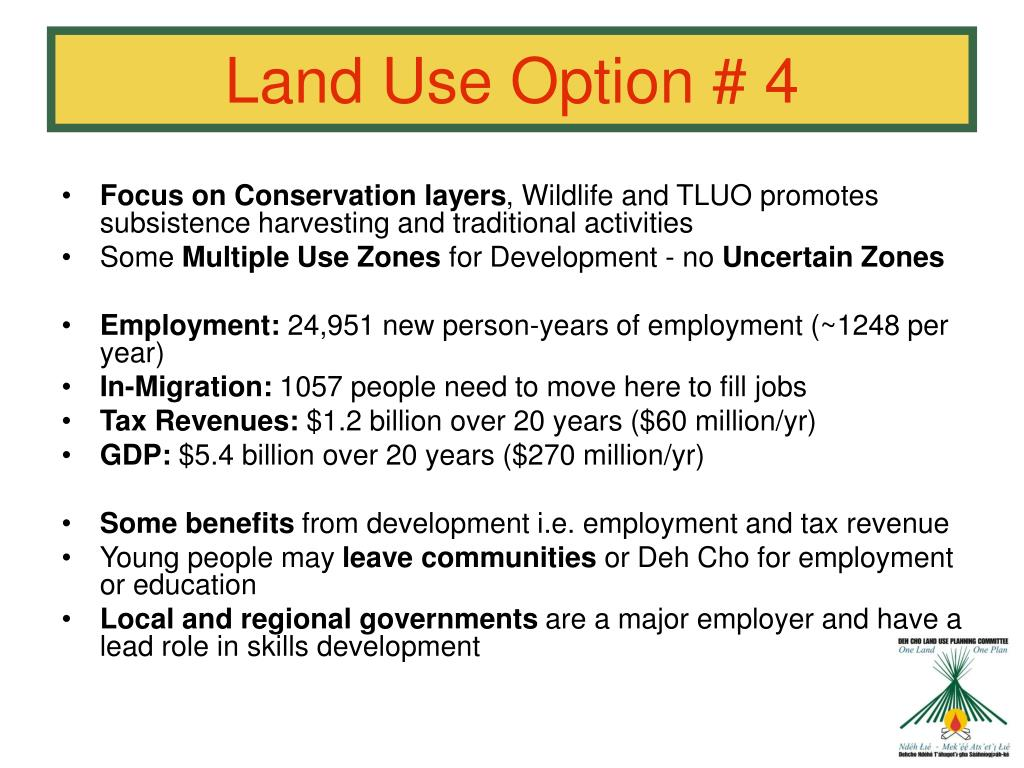 Land Use Option # 4