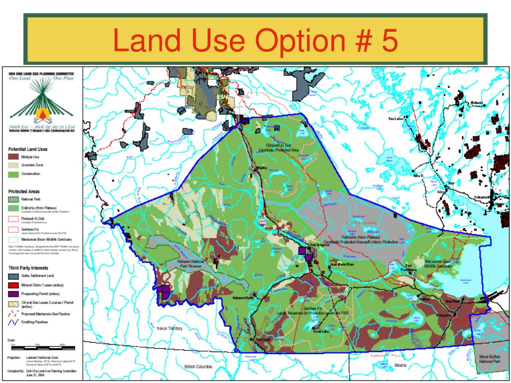 Land Use Option # 5