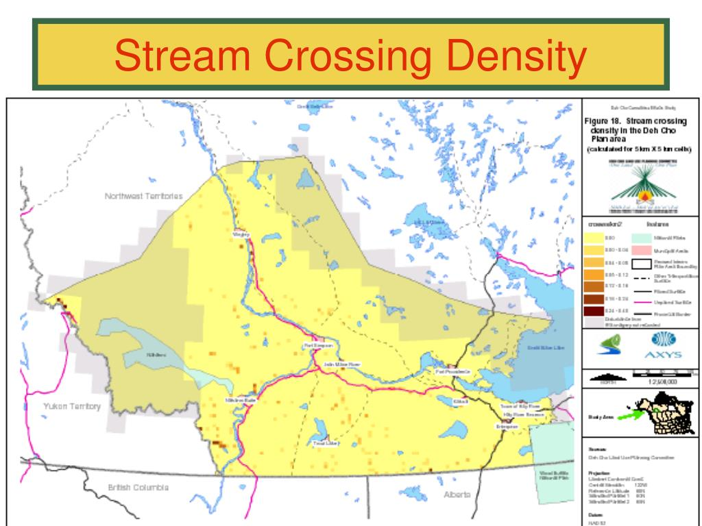 Stream Crossing Density