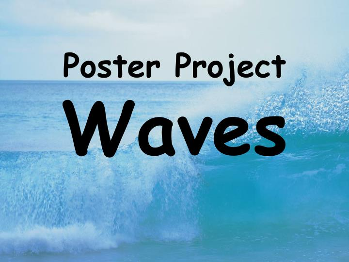 Poster project waves