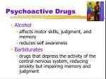 psychoactive drugs22