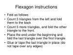 flexagon instructions