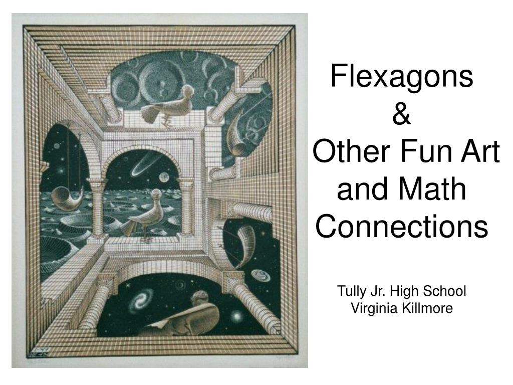 flexagons other fun art and math connections tully jr high school virginia killmore l.