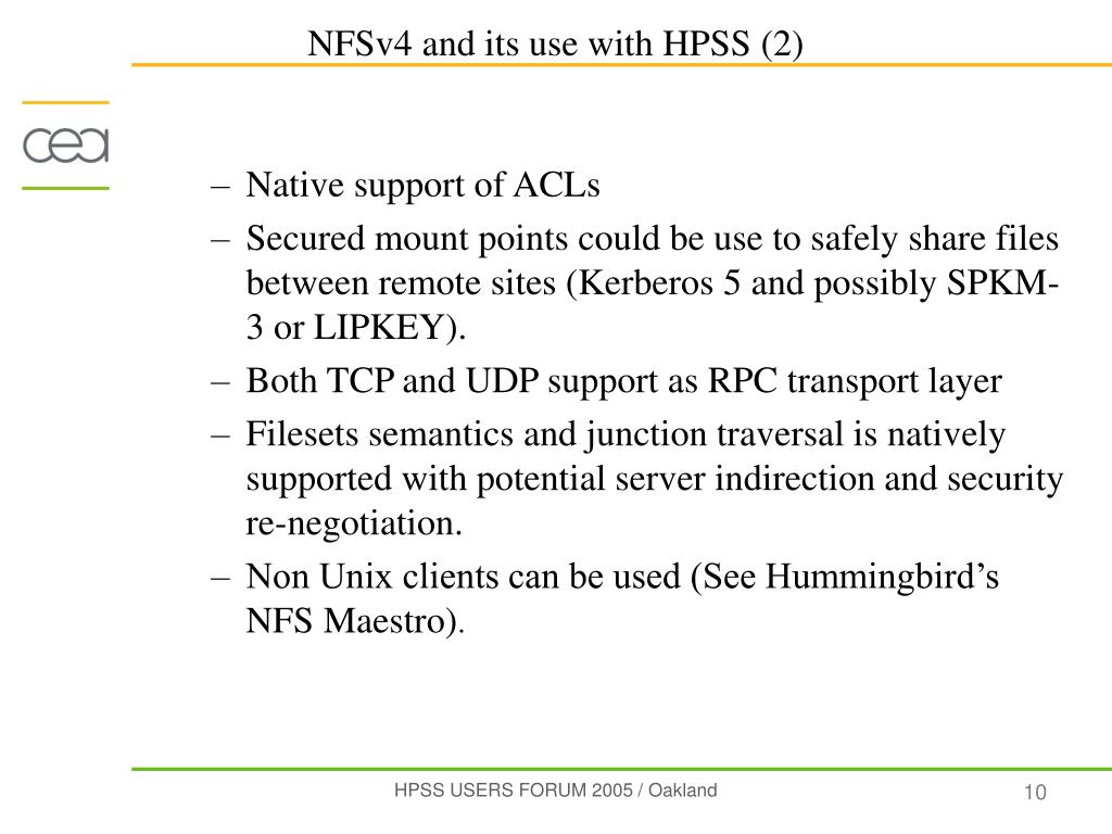 Native support of ACLs