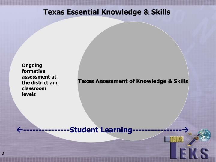 Texas Essential Knowledge & Skills