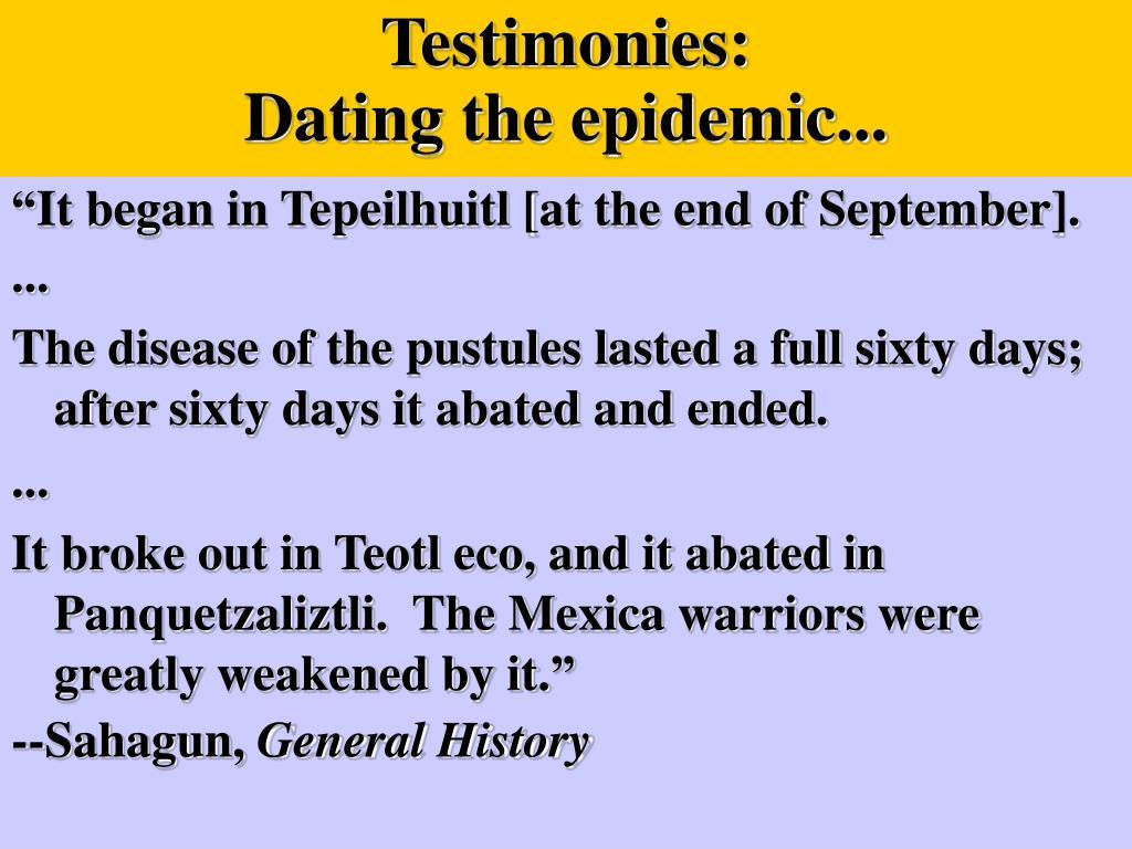 Testimonies: