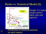 hydro vs statistical model 3