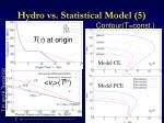 hydro vs statistical model 5
