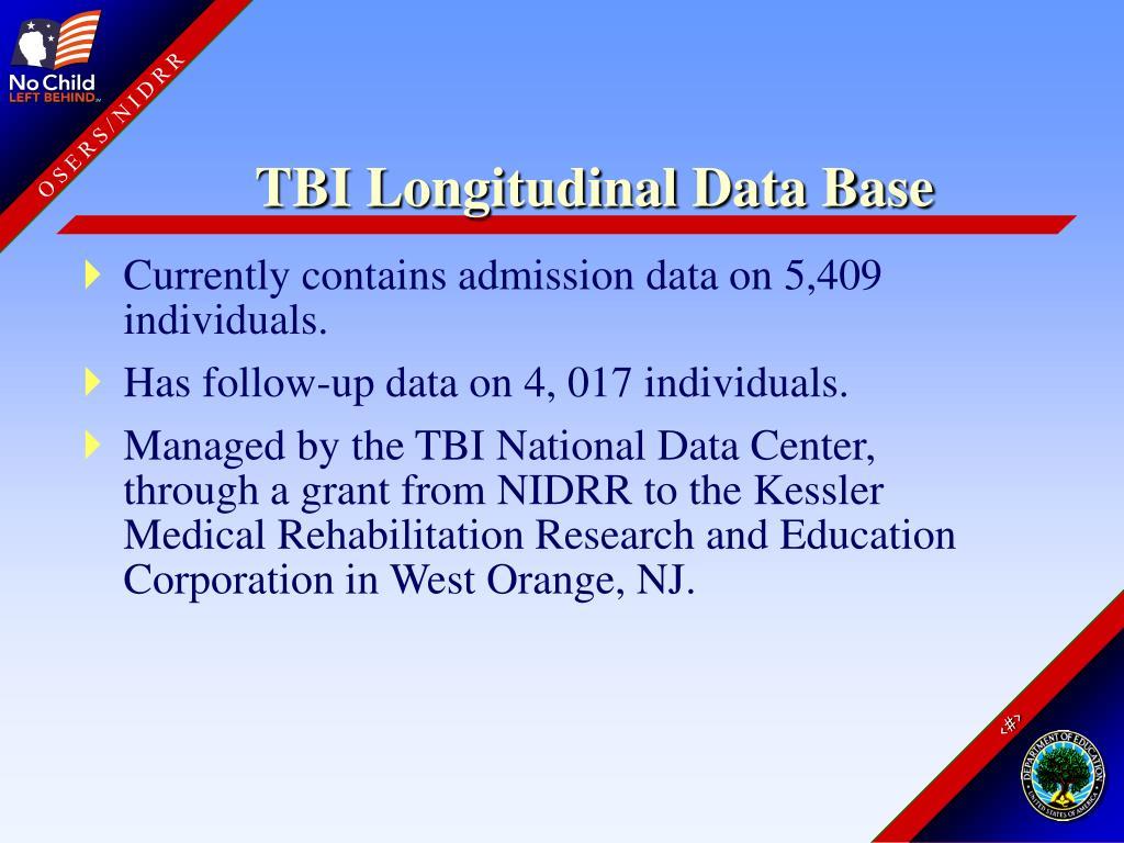 TBI Longitudinal Data Base