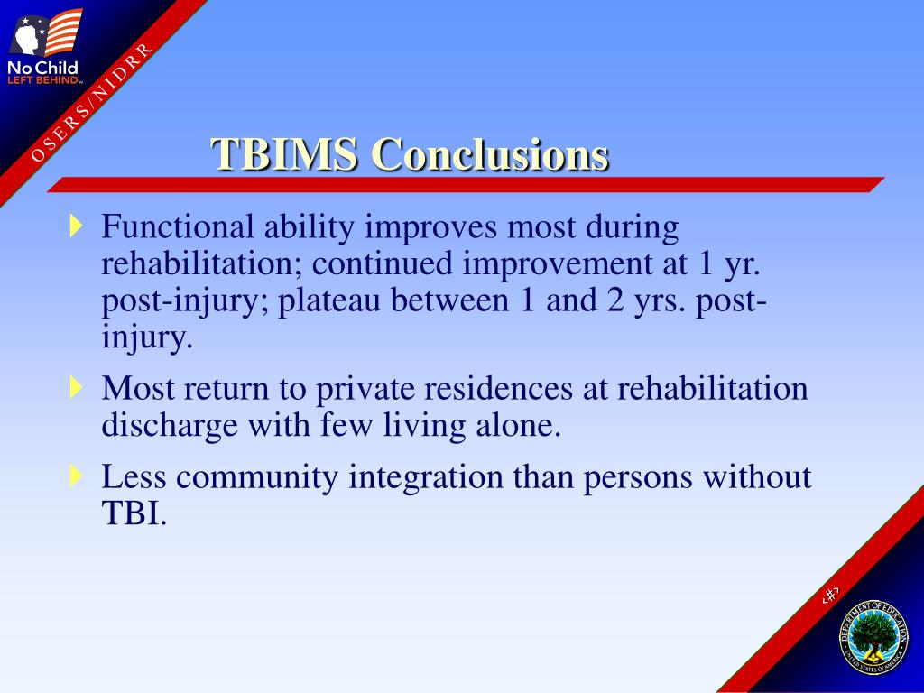 TBIMS Conclusions