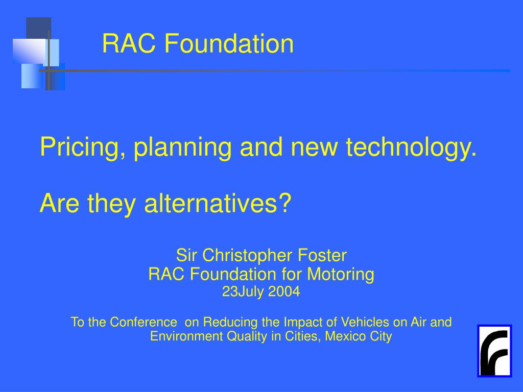 rac foundation