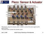 piezo sensor actuator