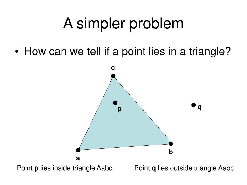 A simpler problem